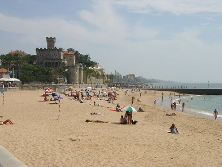 Costa de Estoril en verano