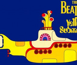 Portada del 'Yellow Submarine' de los Beatles