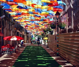 Umbrella Sky Project, Agueda