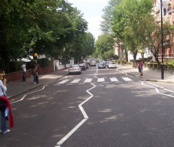 Paso de cebra Abbey Road