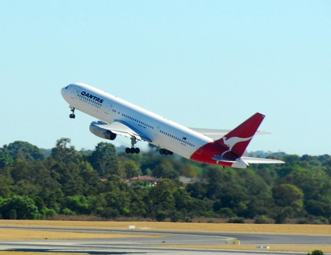Despegue Avion Qantas