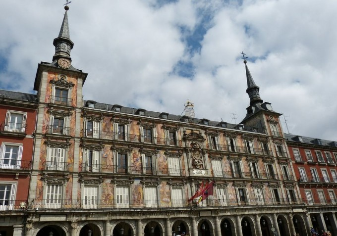 Hotel en la Plaza Mayor