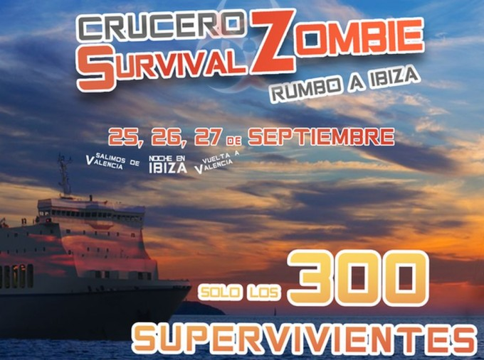 Crucero zombie real