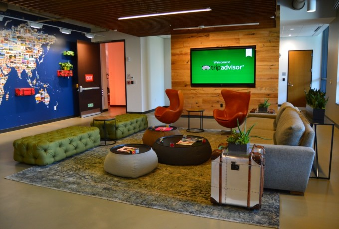 TripAdvisor HQ reception