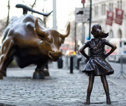 estatua de Fearless Girl
