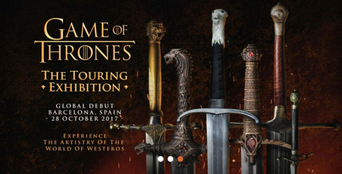 Game of Thrones The Touring Exhibition en Barcelona